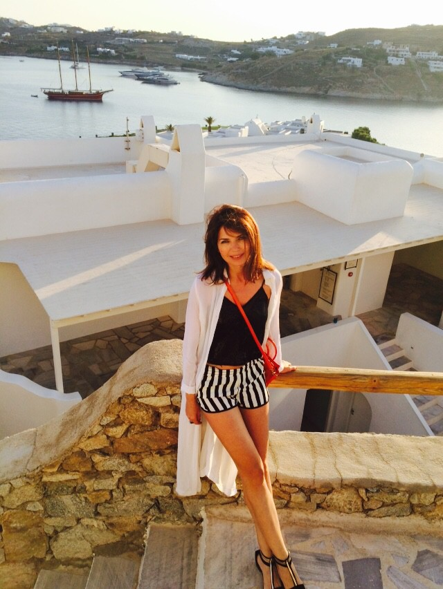 Mykonos Greece - EAT FLY DRESS by Yuliah Vine