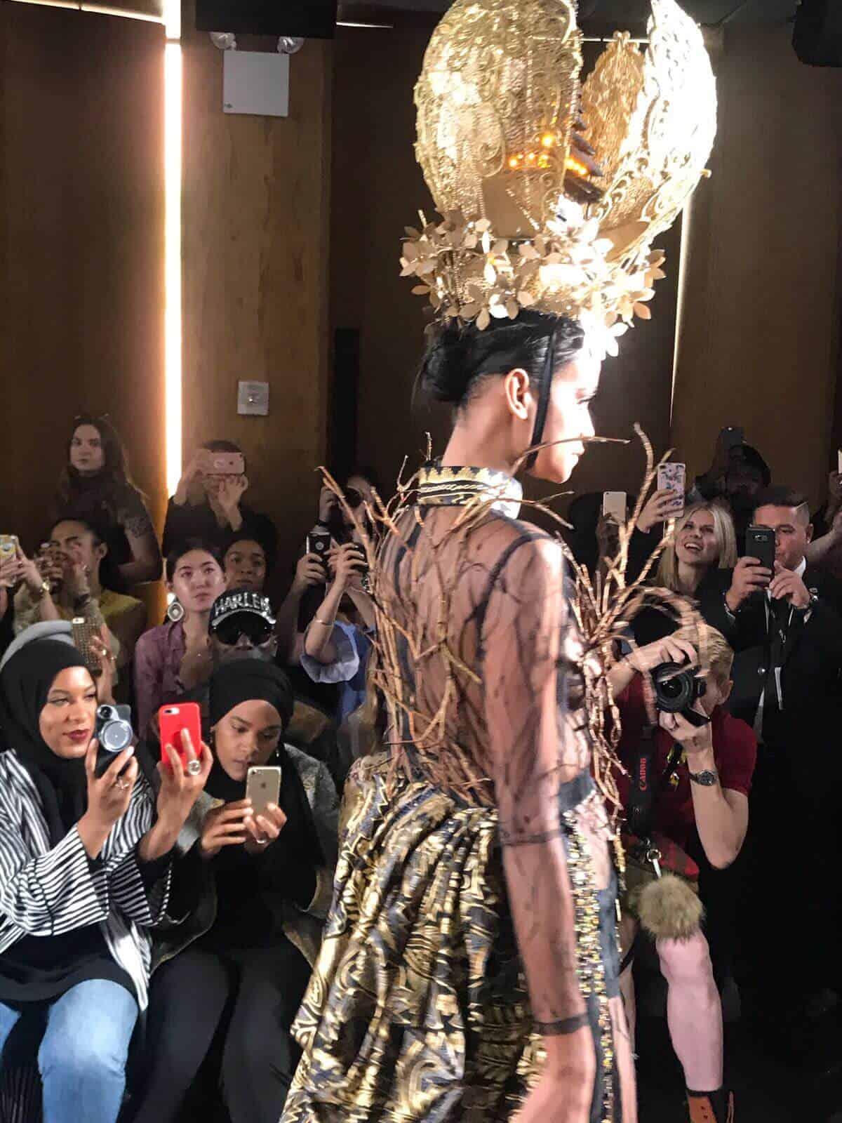 שבוע אופנה בניו יורק ספטמבר 2017 - eat-fly-dress by Yuliah Vine