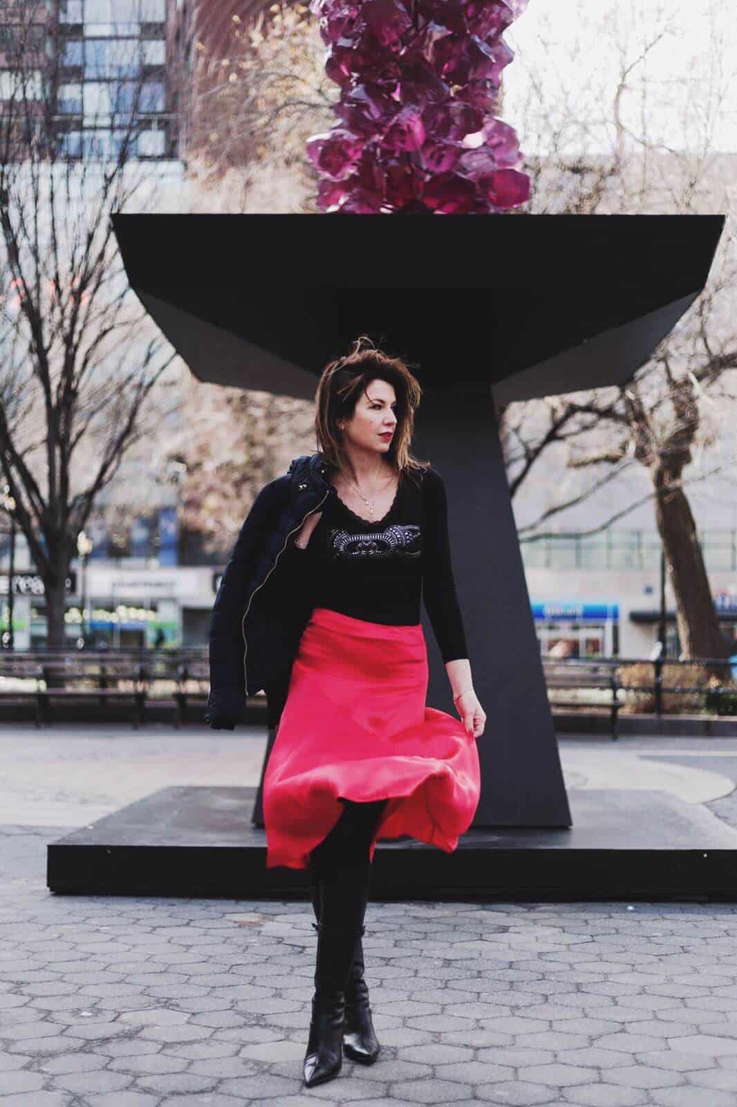 От зимы к весне. Что носить Union Square New York