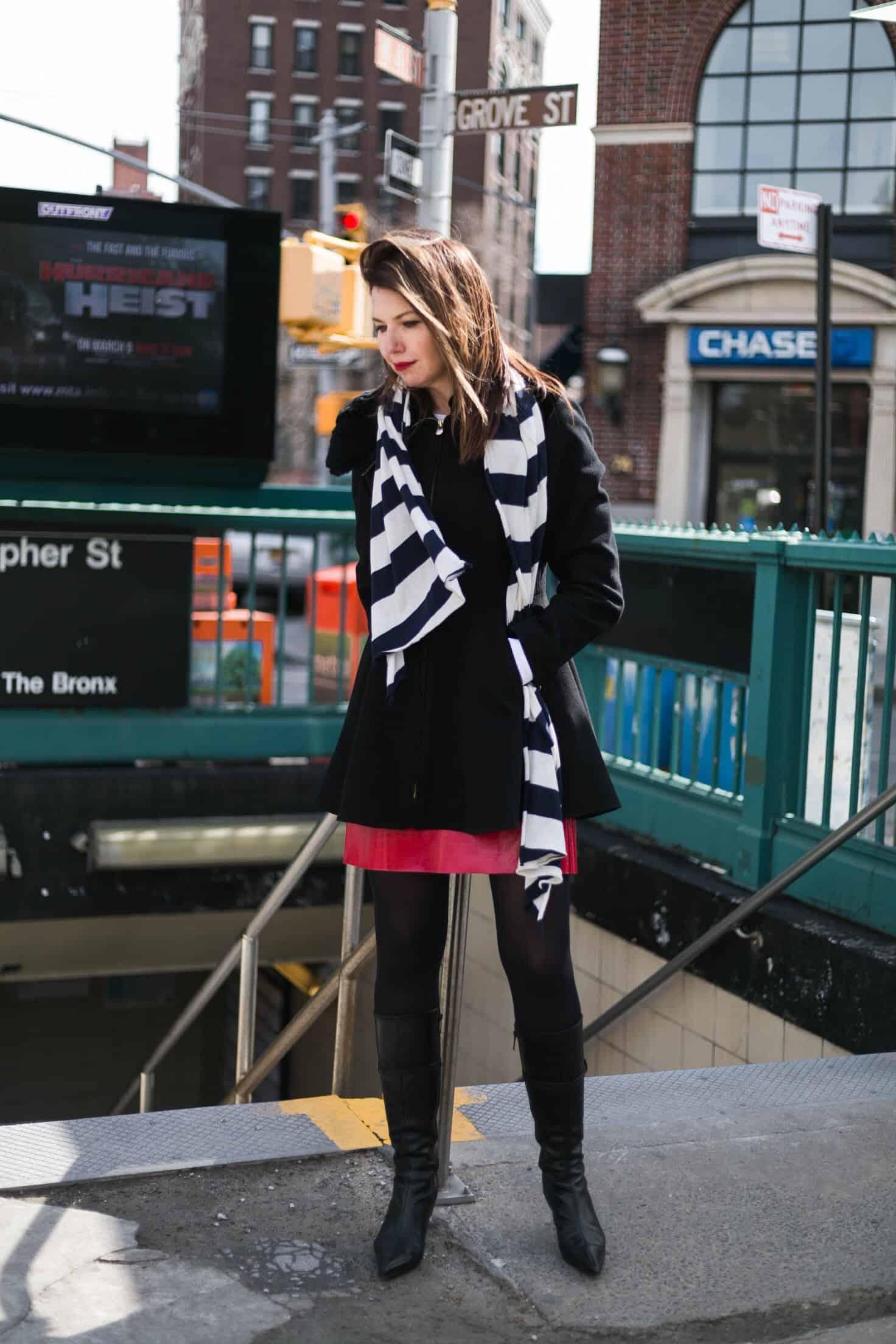 От зимы к весне. Что носить Eat-Fly-Dress in West Village New York