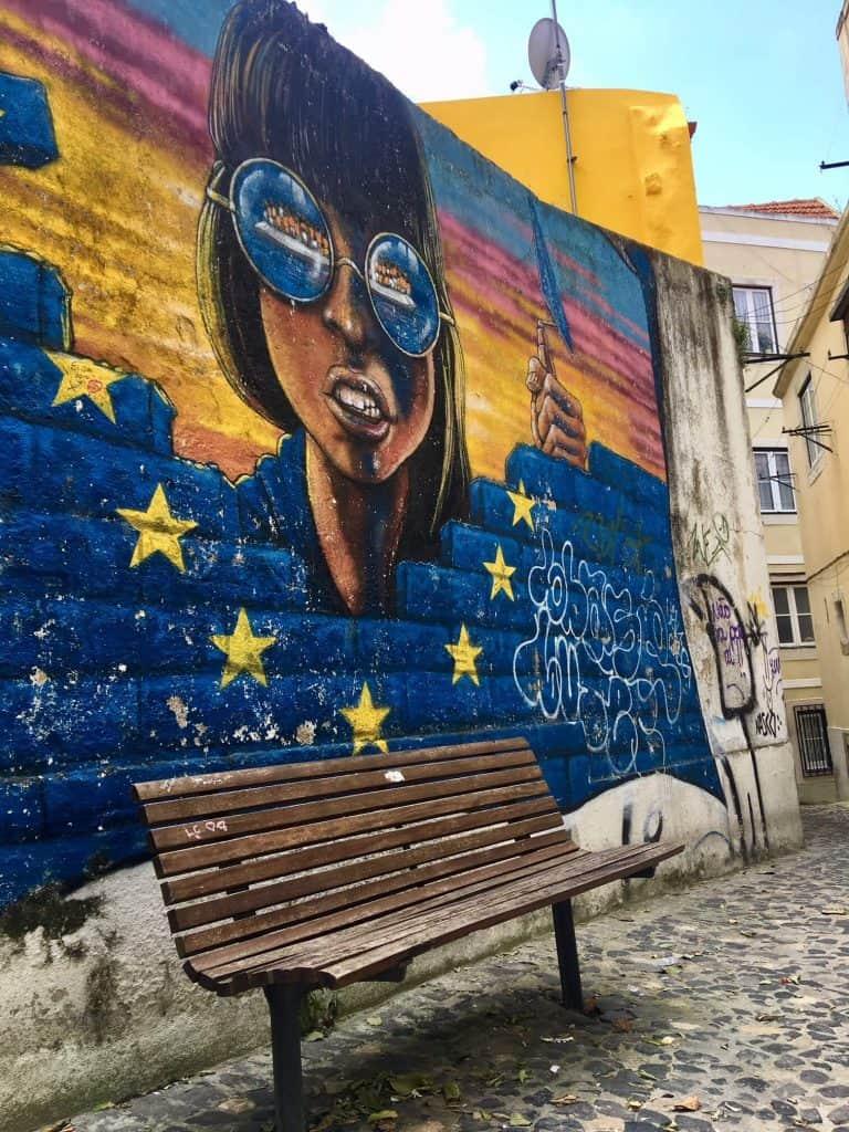 Sao Cristovao - Lisbon-Graffiti art