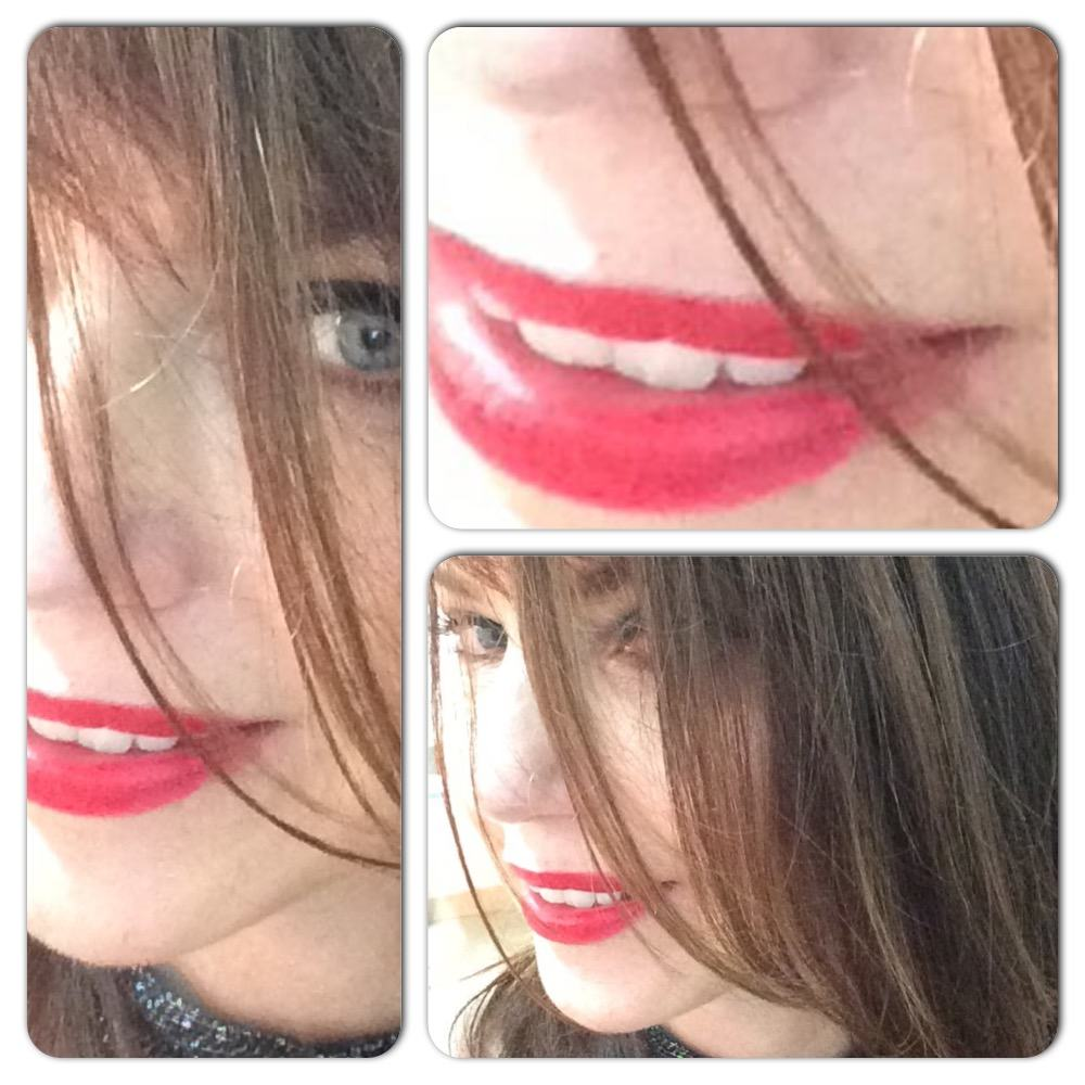 Red on your lips