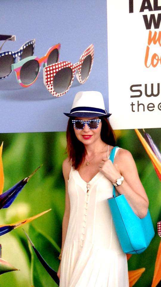 Swatch the eyes