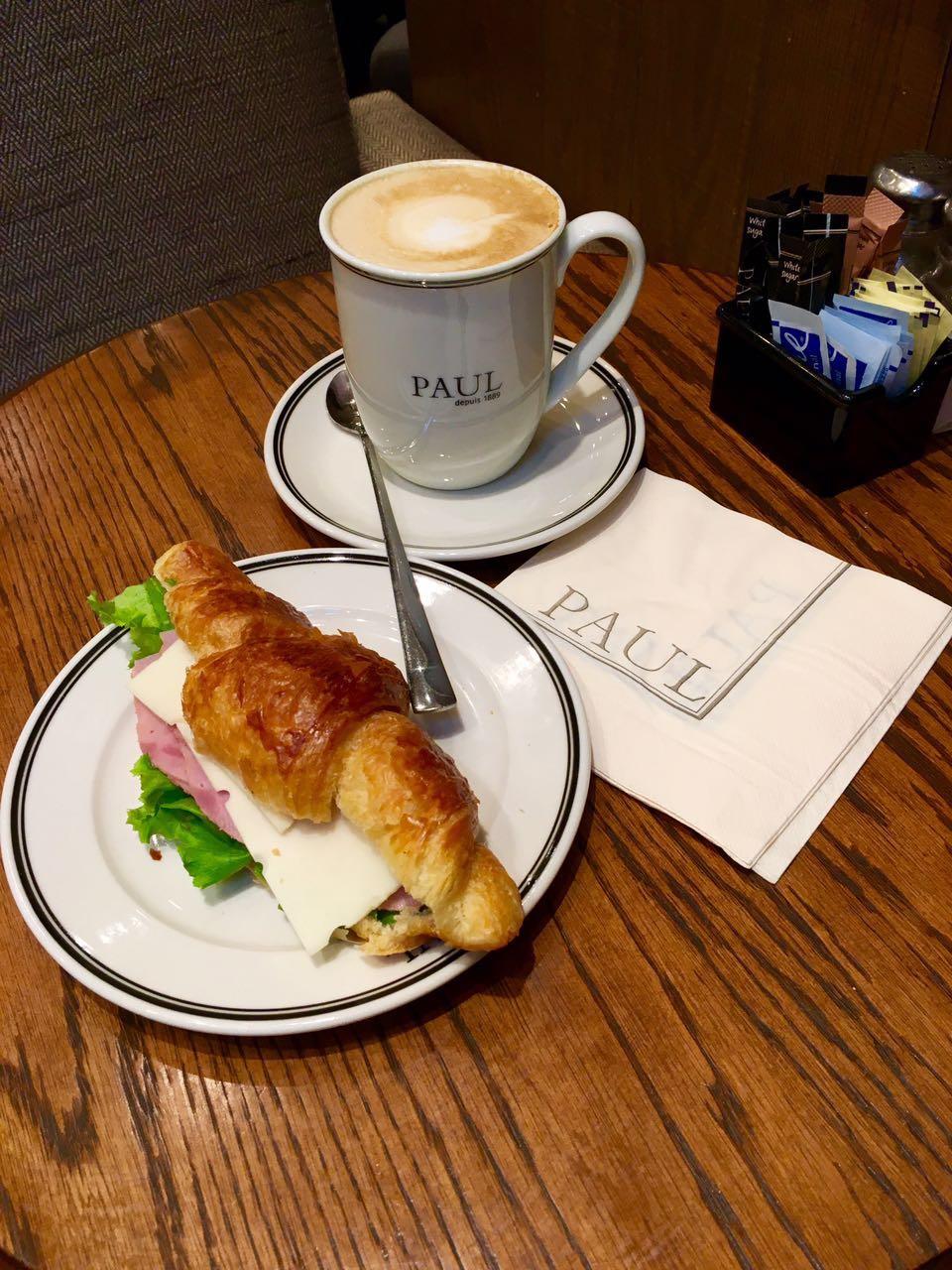 בית קפה PAUL הפריסאי בבנגקוק