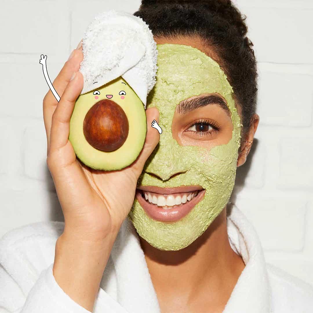 New Kiehl's avocado mask